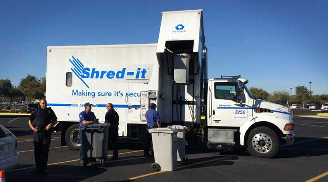 POSA Hosts Shred Event in Scottsdale on Saturday, September 26th